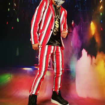 Custom Made Stage Clothing (jacket+pant)...