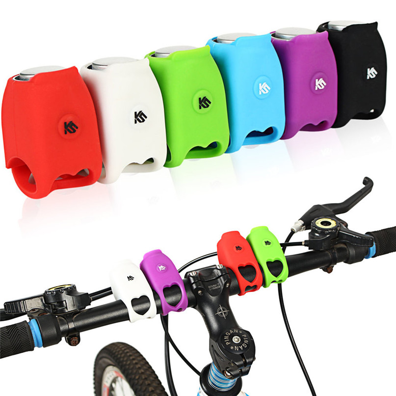 Bicycle Bell Cycling Horns Electronic Bicycle Handlebar Ring Bell Horn Strong Loud Air Alarm Bell Sound Bike Horn Safety M25