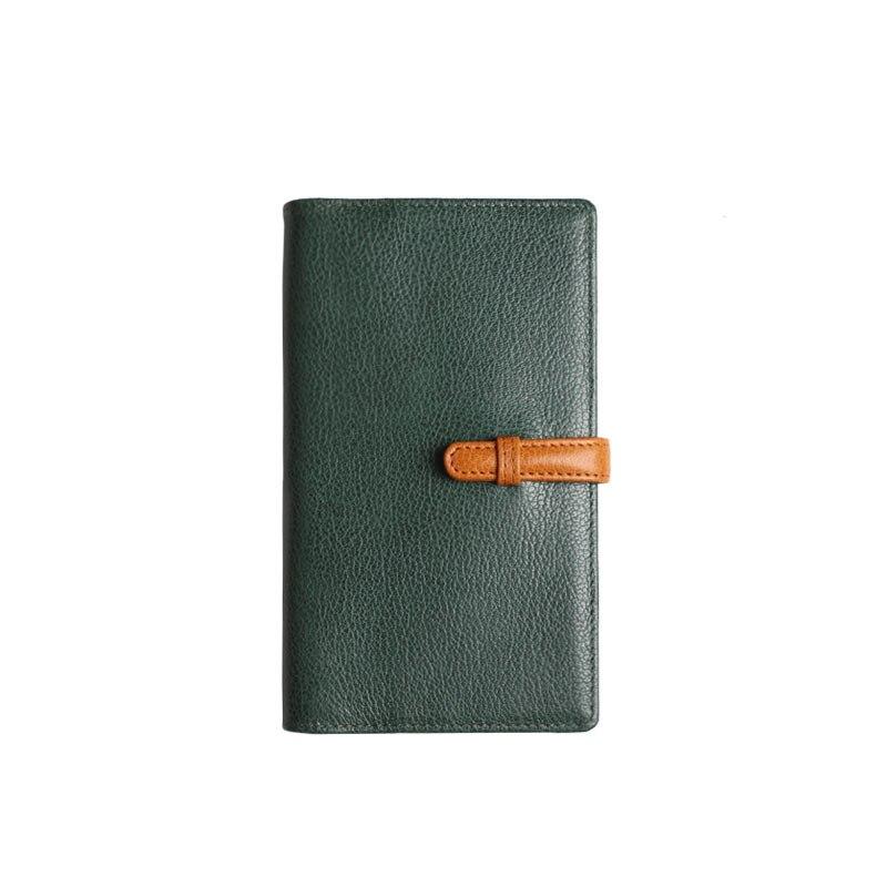 2019 Yiwi A6 vache en cuir véritable planificateur petit 8mm anneau Portable carnet de voyage spirale classeur journal