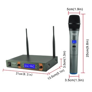 Image 5 - Freeboss KV 22 VHF 2 Handheld Wireless Microphone Dynamic Capsule Family Party Mixed Output  Wireless Microphone