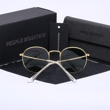 Luxury Round Sunglasses Women Brand Designer 2018 Retro Sunglass Driving Sun Glasses For Women Men Female Sunglass Mirror 3447