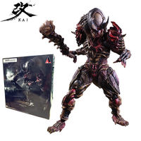 Play Arts AVP Alien vs Predator Chopper Scar PVC Action Figures Statue Model Anime Figure Collectible Model Toy