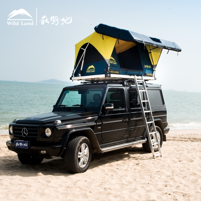 Wildland Roof Top Tent Car Hard Shell Pathfinder Ii Automatic Quick
