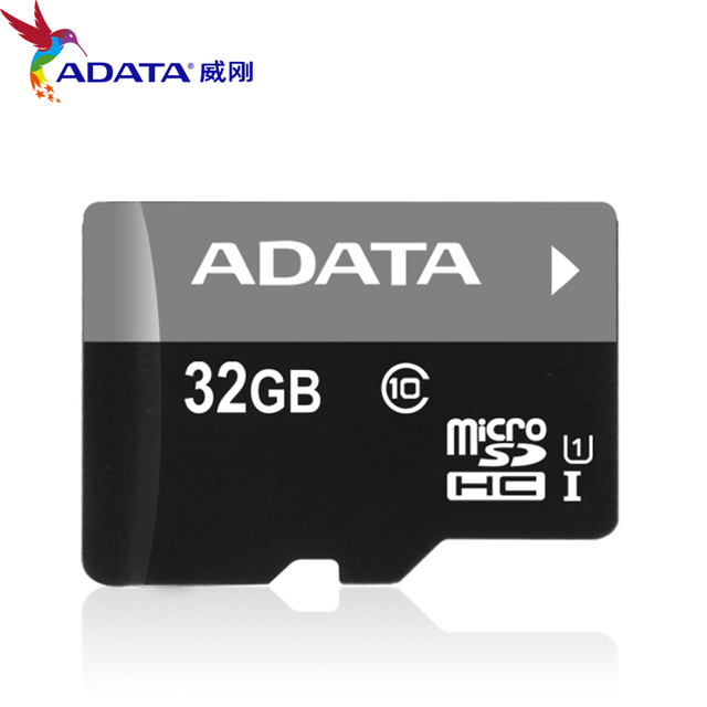 2017 100% ADATA Micro SDHC 32 ГБ U1 Class10 карты Памяти TFCard Поддержка Официальная Проверка