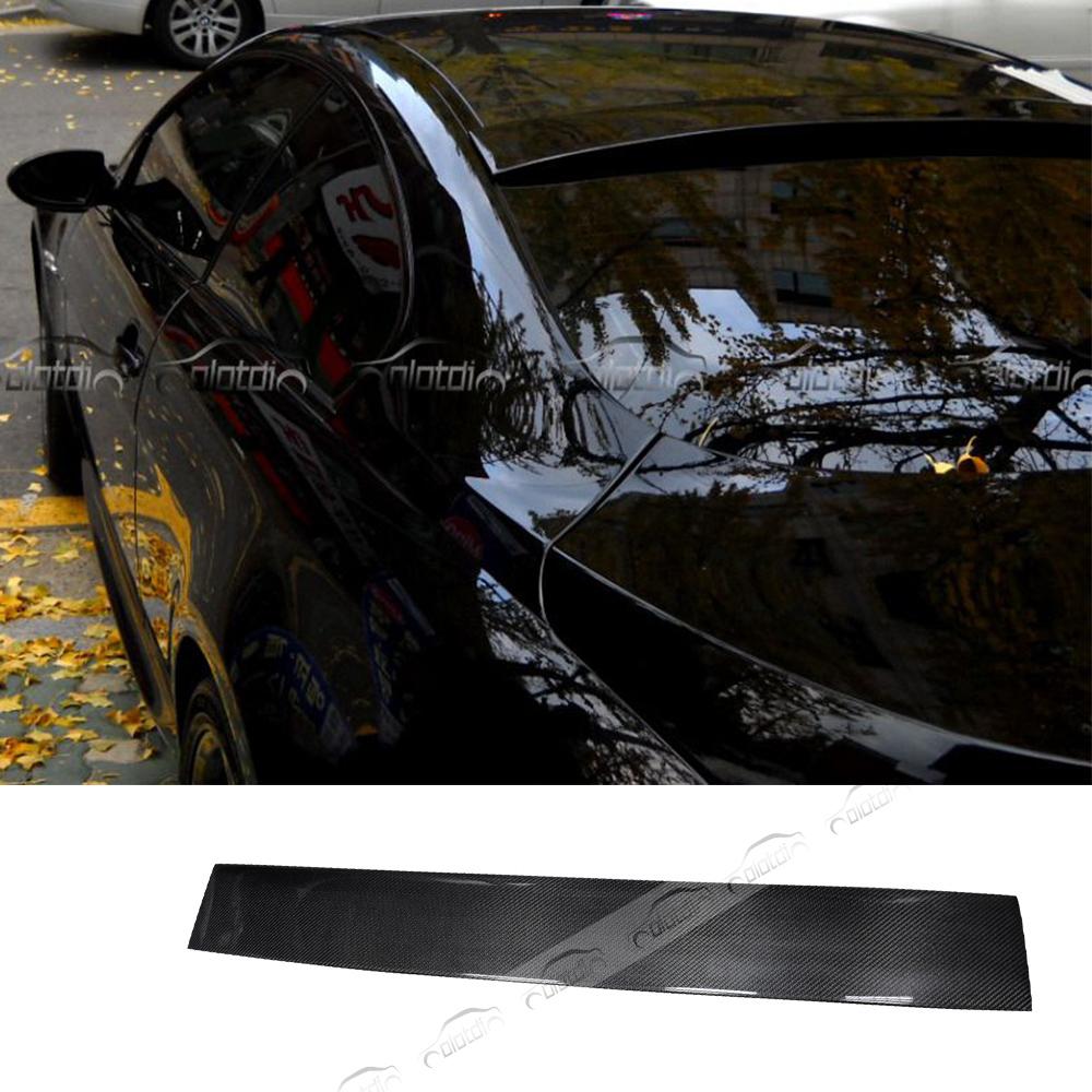 L Style Car Styling Real Carbon Fiber Top Roof Window Wing Splitter Spiler for <font><b>BMW</b></font> 6 Series <font><b>E63</b></font> image