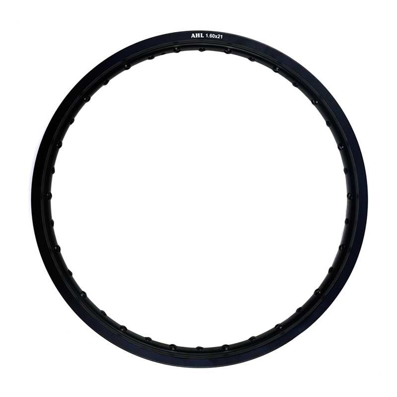 6061 Front Motorcycle Rim Aviation aluminum Black / Silver 1.60x21 36 Spoke Hole 160 x 21 1.60 21 high strength black motorcycle front