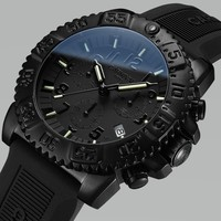 Высококачественные мужские спортивные часы, карнавал, мода, Тритий, самосветящиеся часы для мужчин, силиконовый ремешок, календарь, водонеп