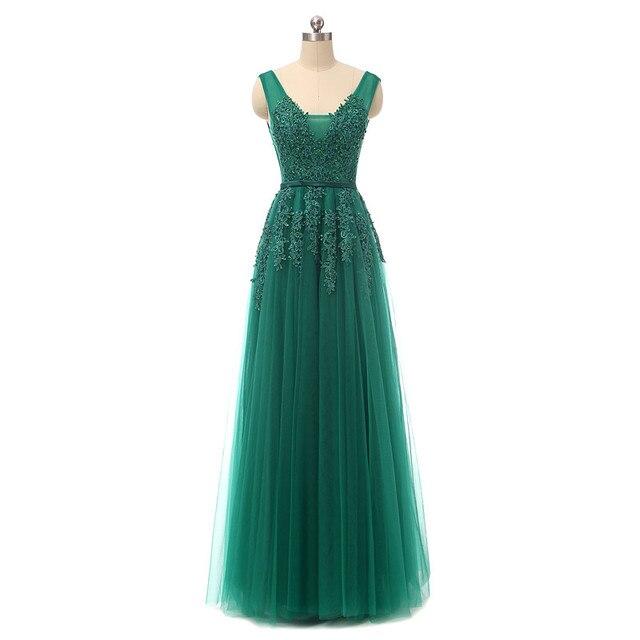 Real Photos Navy Blue Evening Dresses Vestido De Festa V Neck Cap Sleeve Vintage Lace Appliques Beaded African Prom Dresses