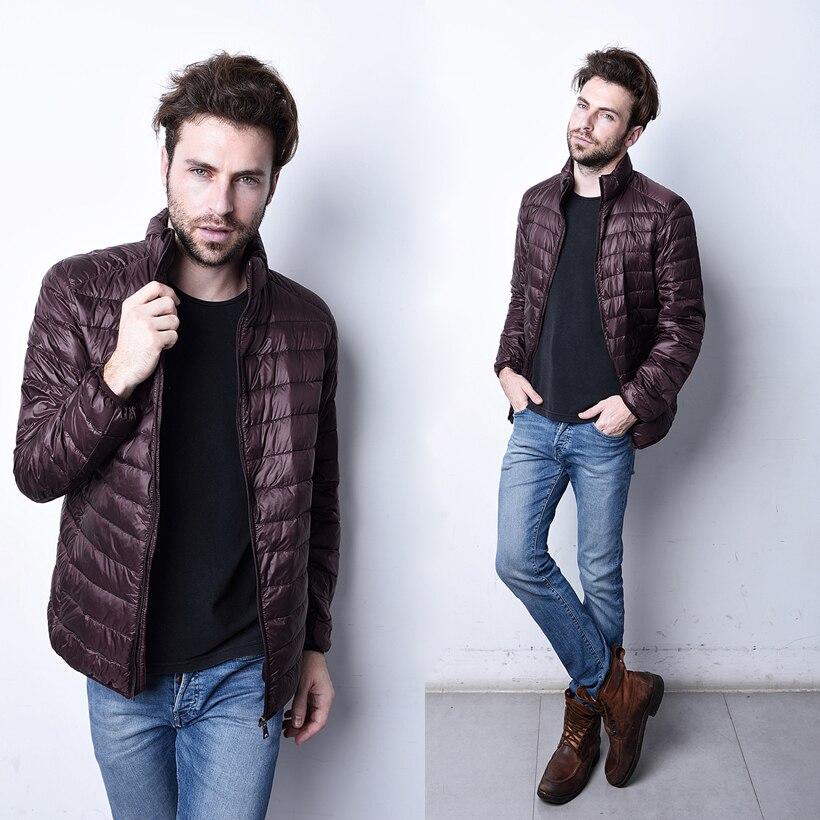 Aliexpress.com : Buy 2017 Fashion Mens Winter Down Parkas Men ...