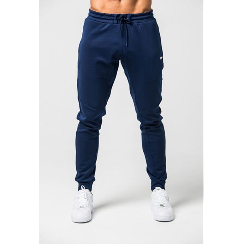 2018 New Brand Summer Fitness Pants Men Elastic Breathable Sweat Pants Grey Drawstring Outwear Clothing Male Pants Trousers New