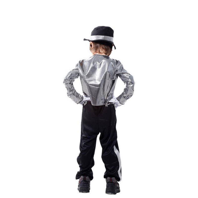 Image 2 - Halloween Michael Jackson Cosplay Costume Superstar Singer Dance Suits Christmas New Year Party Dress