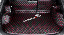 Car Interior Rear Trunk Mat Pad 5pcs for Jeep Renegade 2015 2016