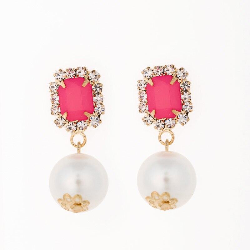 pearl jewelry earrings for women best gifts on valentines day long earrings dollar price earrings christmas earrings #E013
