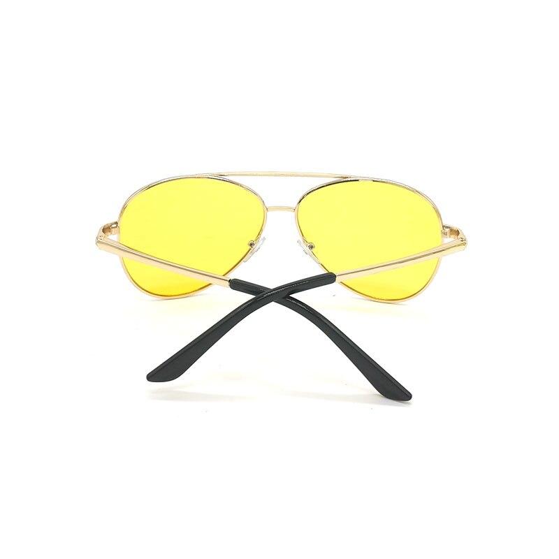 Vidrios polarizados Hombres Amarillos de la Lente Polaroid lentes De ...