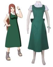 Envío Gratis Naruto Shippuden Uzumaki Naruto Madre Uzumaki Kushina Anime Cosplay Costume