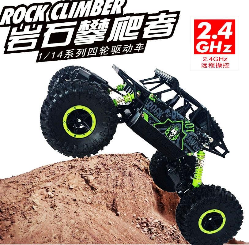 1/18th 2.4 Ghz électrique chaud rc jouet voitures télécommandées modèles 4wd 4x4 rc roche chenille rtr