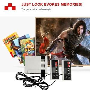 Image 3 - Gry wideo 620 klasycznych gier Port AV Retro mini telewizor ręczny wypoczynku rodzinnego konsola do gier wideo US wtyczka podwójny Gamepad odtwarzacz