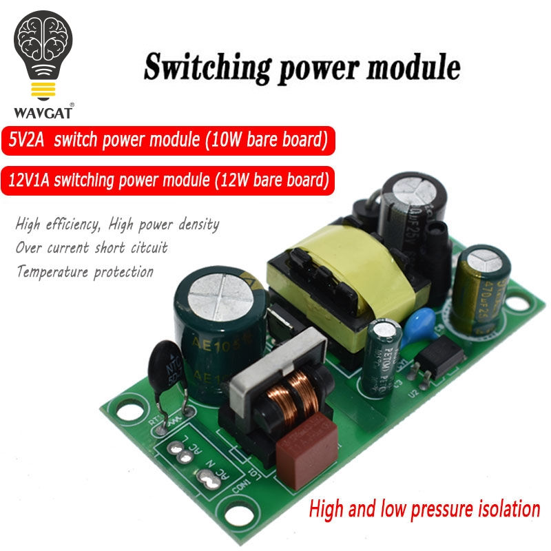 12V 450mA AC-DC Isolated Power Converter 220V to 12V Step Down Module In ZY RU