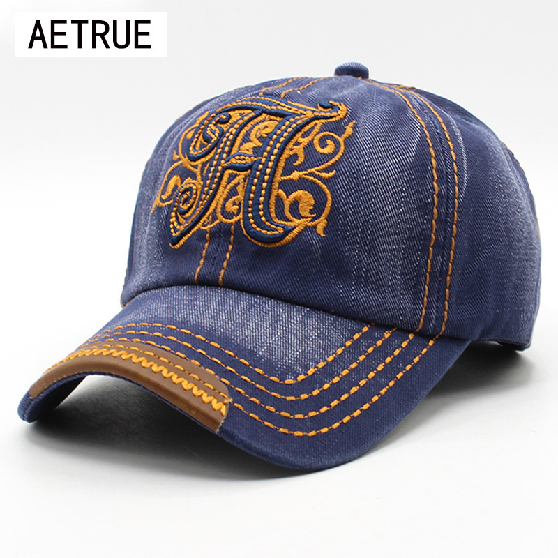 100% Cotton Baseball Cap Snapback Casquette Caps Hats For Men Women Sun Hat Bone Denim Gorras Baseball Spring Men Cap 2018 2017 brand snapback men women cotton baseball cap jeans denim caps bone casquette vintage sun hat gorras baseball caps ht51196