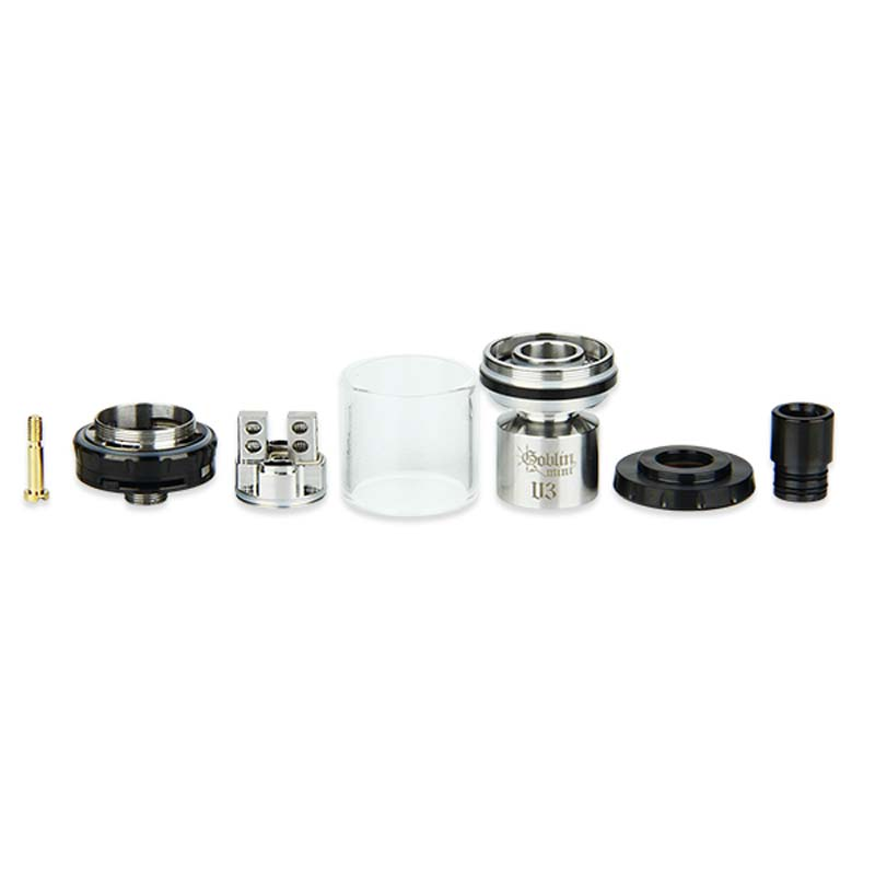 100% Original UD Goblin Mini V3 RTA Atomizer 2ml Top Filling Tank Bottom  Airflow Control With Dual Post Design-in Electronic Cigarette Atomizers  from