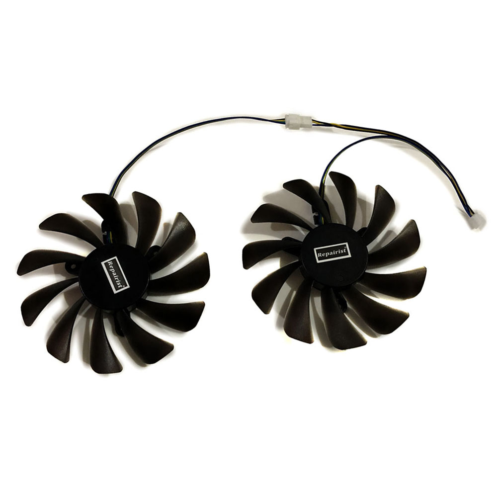 2pcs/set 95MM GAA8S2U GPU VGA Cooler Fan For ZOTAC GeForce GTX1070Ti  GTX1080Ti AMP Core Video Cards Cooling