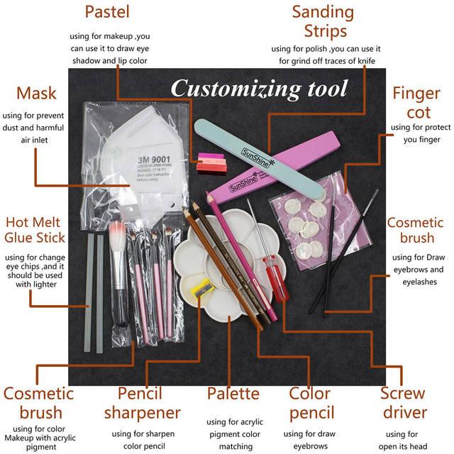 Blythe Doll Customization Tool Kit