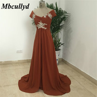 Chiffon Long Mother of Bridal Dresses 2019 Sexy V Neck Shining Beads Mother of the Groom Dress Plus Size Formal Evening Gowns