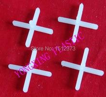 500pcs/bag 1.0mm with handle plastic cross/ tice spacer/tracker/locating/ceramic cross  white color locate the ceramic tile