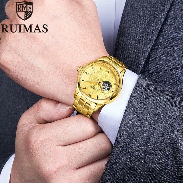Ruimas golden Watch Automatic 3N3
