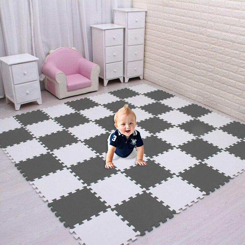 Eva Foam Interlocking Mat Mats Play Floor Gym Soft Exercise Tiles