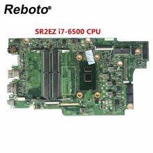 Para dell inspiron 7778 série portátil placa-mãe ddr4 com sr2ez i7-6500 cpu CN-0809FW 0809fw 809fw 100% testado navio rápido