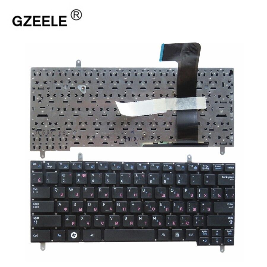GZEELE Russian Keyboard For Samsung N210 N220P N210 N220 N315 N260 RU Black Laptop Keyboard BA59-02704D