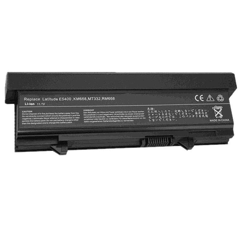 HSW 7800mAh 9Cells Battery for Dell Latitude E5400 E5410 E5500 E5510 RM661 RM668 T749D U116D W071D WU841 WU843 WU852 X064D accu