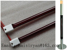 600w Ruby red quartz glass medium wave infrared heating lamps for oven цена