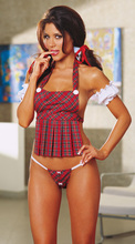 In 2016 the European and American sexy lingerie maid temptation to suit to role-play students