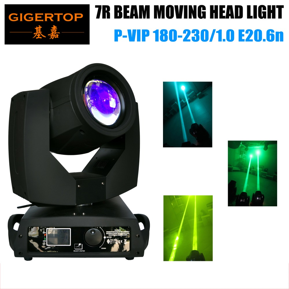 TIPTOP Stage Effect LED Lights Os-ram Bulb 230W Sharpy 7R Beam Moving Head Light 16 Prism Frost Lens DMX 16CH 90V-240V huter r 200
