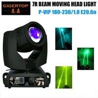 TIPTOP Stage Effect LED Lights Os ram Bulb 230W Sharpy 7R Beam Moving Head Light 16 Prism Frost Lens DMX 16CH 90V 240V