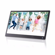 15. 6 дюймов ips HD полный угол обзора поддерживает вертикальное и горизонтальное видео Фотография проигрыватель цифровые фоторамки цифровой альбом