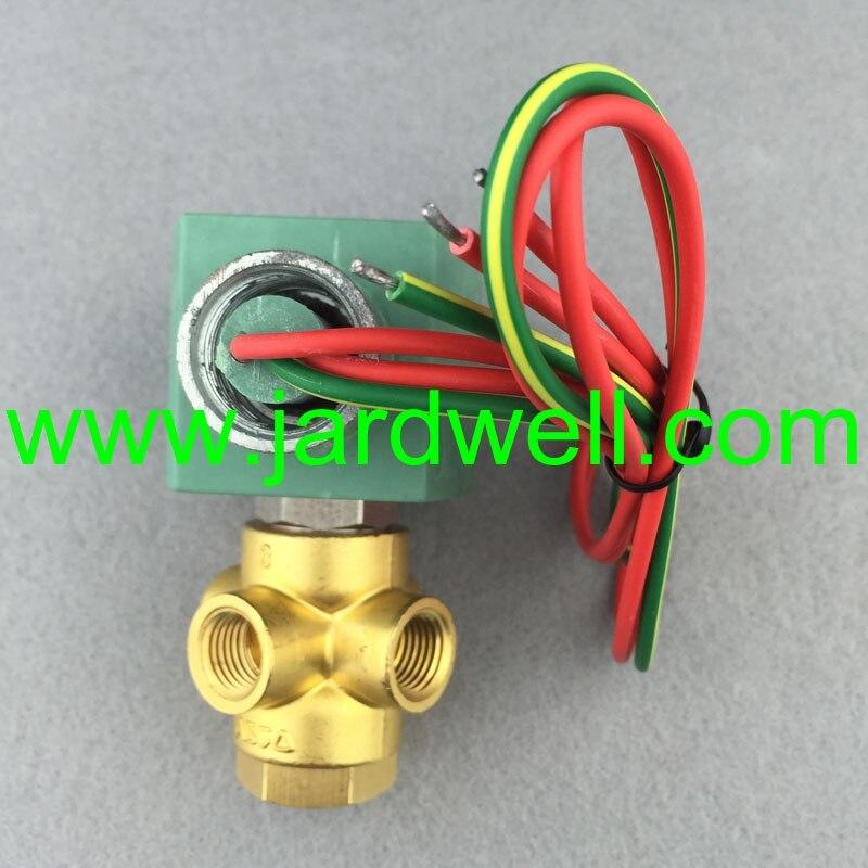 solenoid valve 250038-666 3924450 2001es 12 fuel shutdown solenoid valve for cummins hitachi