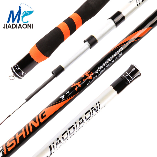 JIADIAONI 28 Tonal Carbon Carp Taiwan Fishing Rod 3.6m 4.5m 5.4m 6.3m 7.2m Superhard Streams Rod Professional Pole FishingTackle