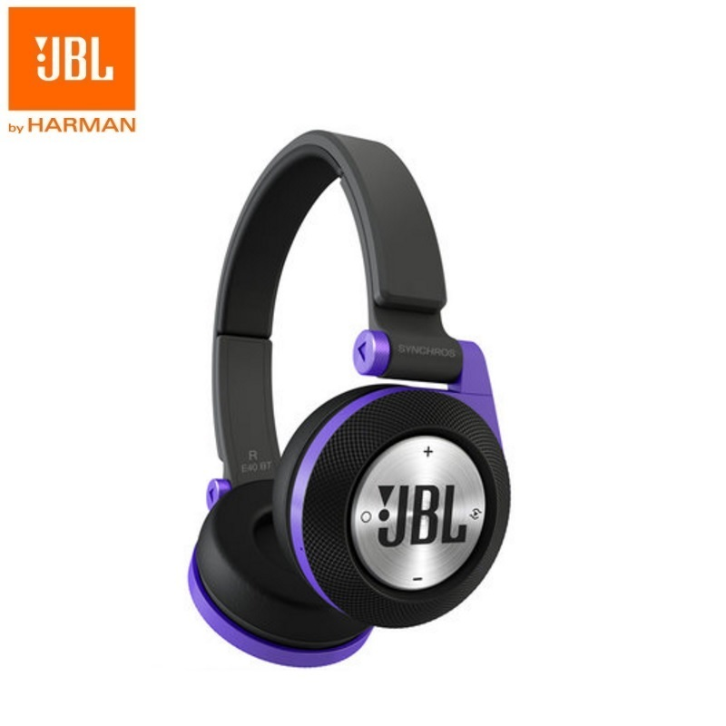 New Original JBL E40BT Best Bass Stereo Wireless Bluetooth Earphone For Android IOS Mobile phone Earbuds Headsets with Mic new original jbl synchros reflect best bass stereo hifi sports earphone for iphone earbuds headsets with mic pk se215 se535