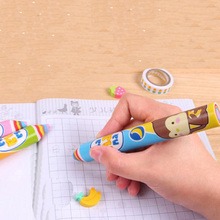 2 Pieces Novelty Rainbow Pen Shape Eraser Sweet Rubber Eraser Creative Stationery School Supplies Gifts for Kids Student Prize