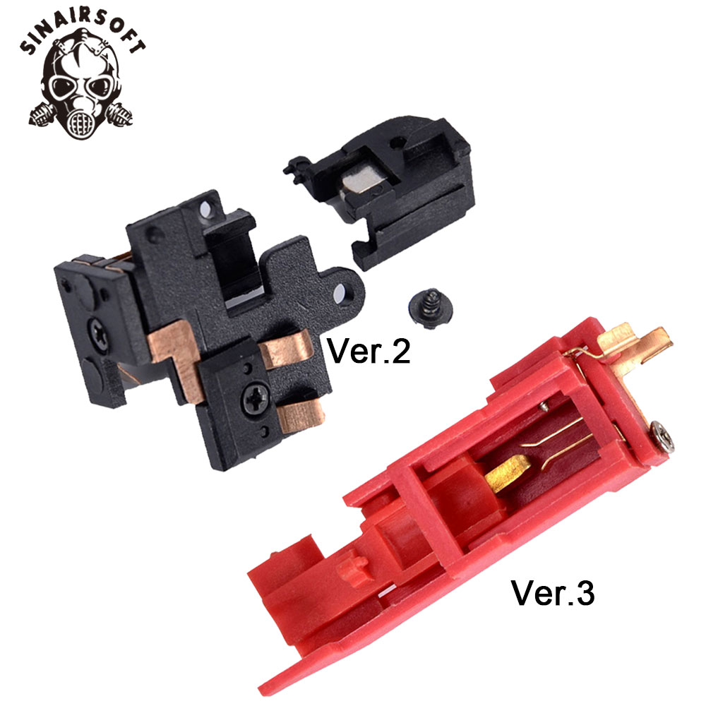 Ultra Precision Airsoft AEG black Heat Resistance Switch Electric  Hunting accessories For Version 2/3 Gearbox Installation