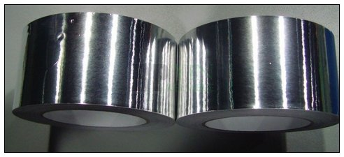 1 Roll 80mm * 40M *0.06mm Single Sided Sticky Aluminum Foil Tape Paper for EMI Shielding Electromagnetic Radiation Mask