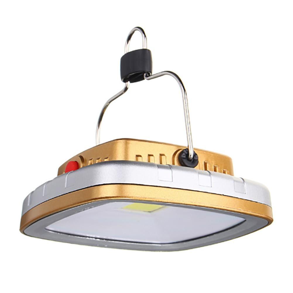 COB Lanterne Solari LED Tenda di Campeggio Della Lampada della Torcia Elettrica USB Batteria Ricaricabile Luce Della Tenda