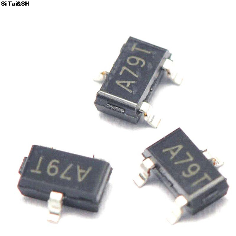 50pcs AO3407 3407 SOT23-3 MOSFET A79T MOSFT P-Ch -30V -3.6A 64mOhm New And Original