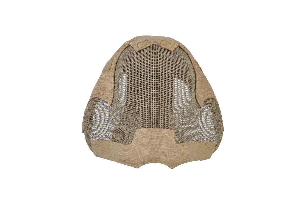 Full Face protective tactical Mask V6 Steel Net Mesh Fencing Mask Drop Shipping casio ltp e410d 7a