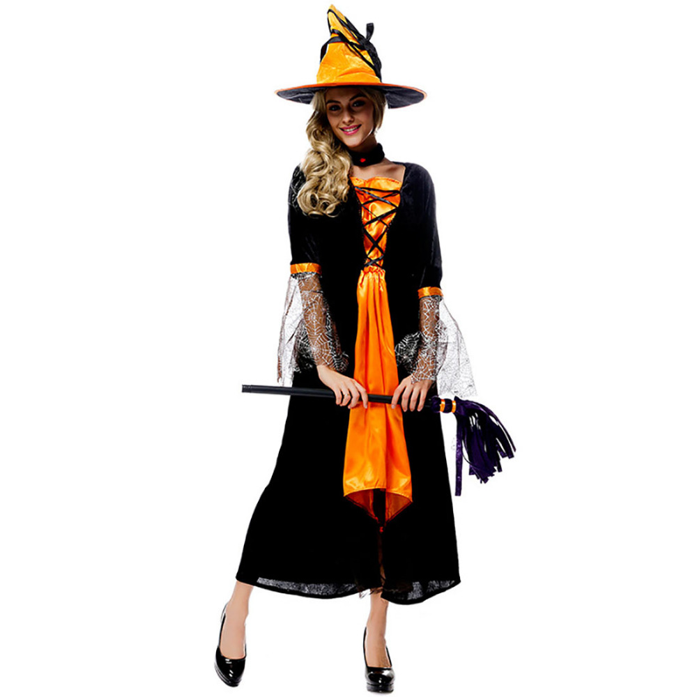 Popular Witch Gown-Buy Cheap Witch Gown lots from China Witch Gown ...