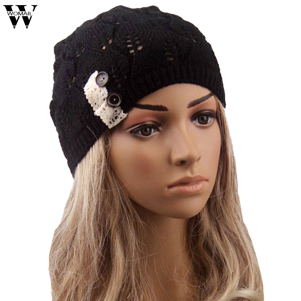 цены Amazing Winter Cap Women Hats and Caps Knit Hat Beanie Free Shipping
