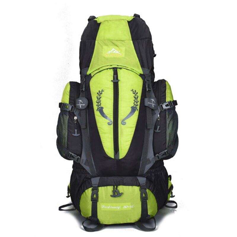 Grand sac à dos extérieur 85L voyage multi-usages escalade sacs à dos randonnée grande capacité sacs à dos camping sacs de sport - 5